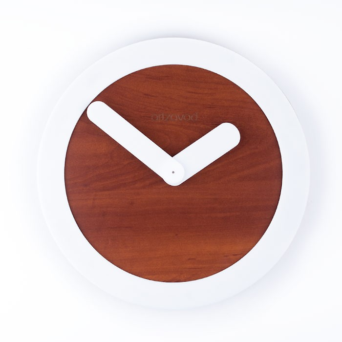 Wall clock KoLo White