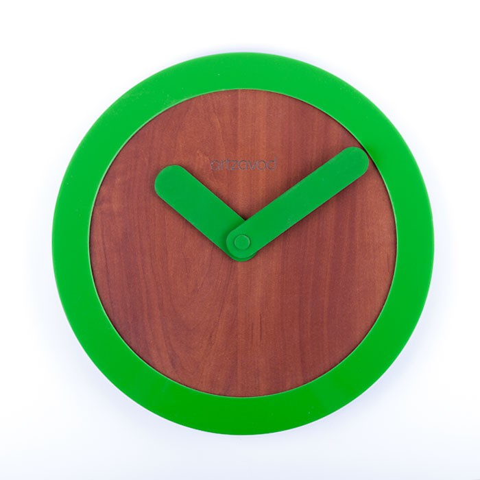 Wall clock KoLo Green