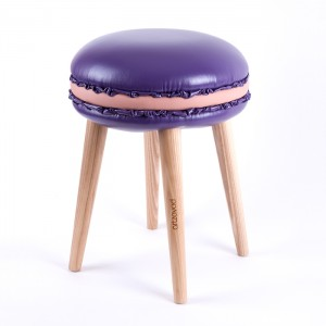 The stool Macaron Coco