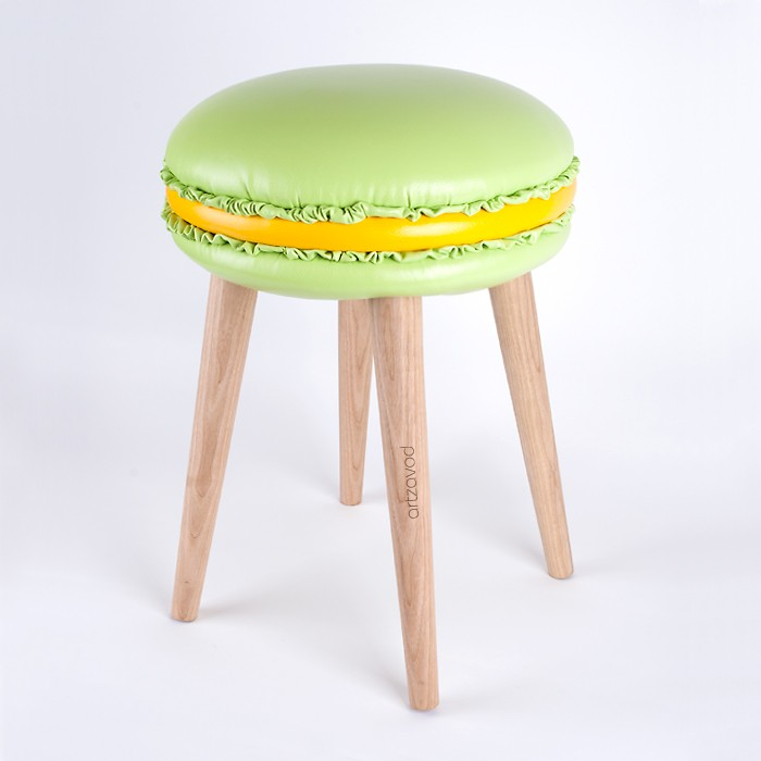 The stool Macaron Marie