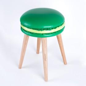 The stool Macaron Audrey