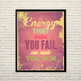 Art poster Energy