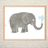 Art poster Elephant