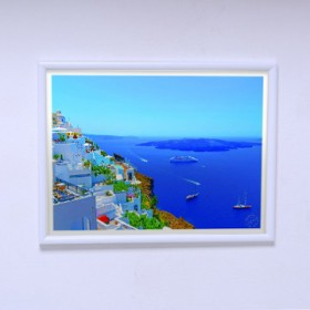 Poster The Panorama of Santorini