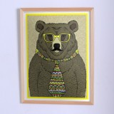 Poster The Bear in a tie