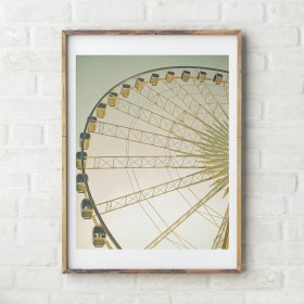 Poster The Ferris wheel