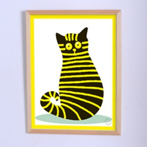 Art poster The Cat Vasyliy