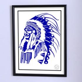 Арт постер Вождь племени