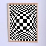 Арт постер Иллюзия