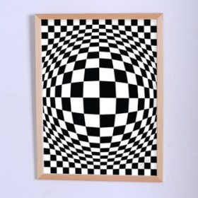 Art poster The illusion