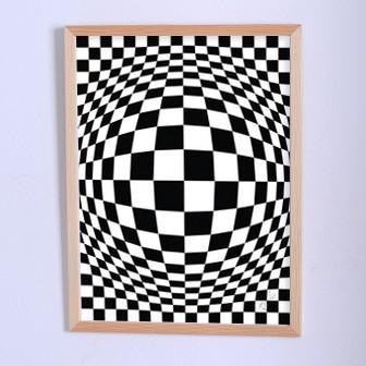 Арт плакат Иллюзия