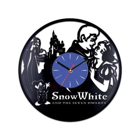 Виниловые часы Белоснежка