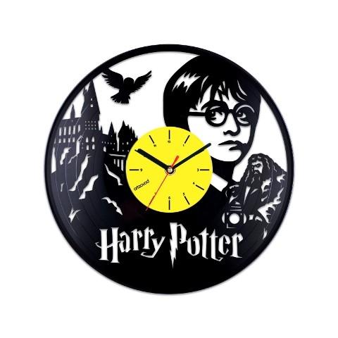 Виниловые часы Гарри Поттер в Хогвартсе