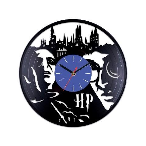Виниловые часы Гарри Поттер и Волдеморт