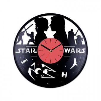 Виниловые часы Звездные войны и любовь