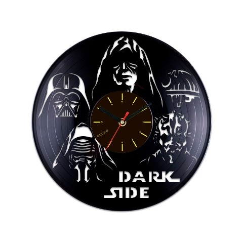 Виниловые часы Темная сторона