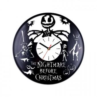 Виниловые часы Кошмар перед Рождеством. Джек