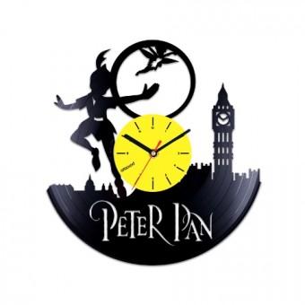 Виниловые часы Питер Пэн. Лондон