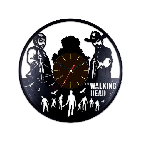 Vinyl clock The Walking Dead. Characters
