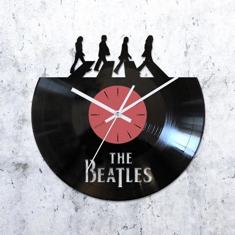Vinyl clock Beatles. Abbey Road