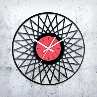 Виниловые часы Углы