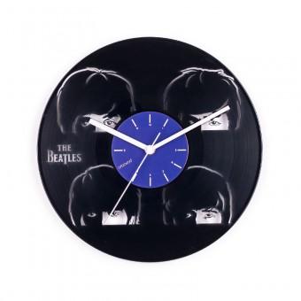 Виниловые часы Битлз. Молодые и знаменитые