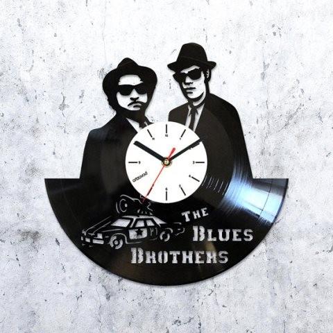 Виниловые часы Братья Блюз