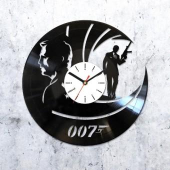 Виниловые часы Джеймс Бонд