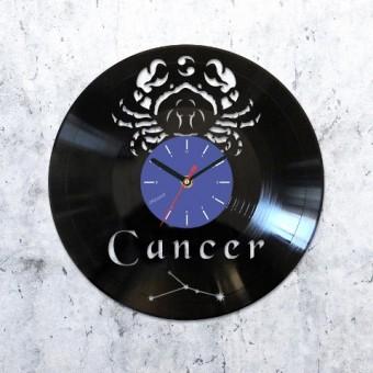 Виниловые часы Рак