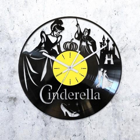 Vinyl clock Cinderella