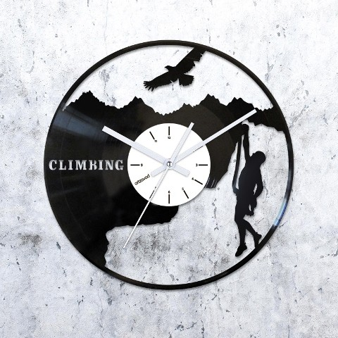 Виниловые часы Альпинизм