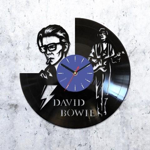 Виниловые часы Дэвид Боуи