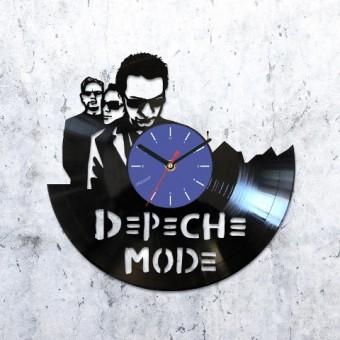 Vinyl clock Depeche Mode