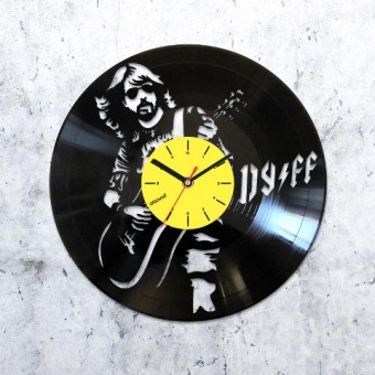 Виниловые часы Foo Fighters