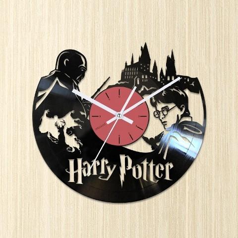 Виниловые часы Гарри Поттер