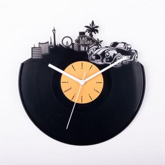Виниловые часы Где-то в Лас-Вегасе