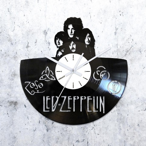 Vinyl clock Led Zeppelin