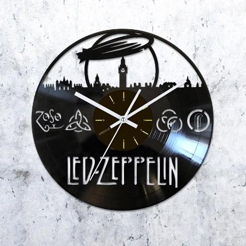 Vinyl clock Led Zeppelin. London