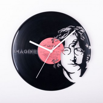 Виниловые часы Джон Леннон