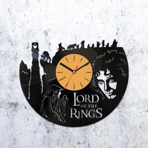 Виниловые часы Властелин колец