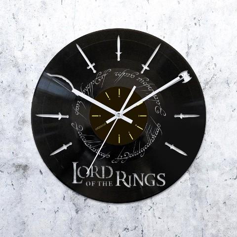 Виниловые часы Властелин колец. Оружие