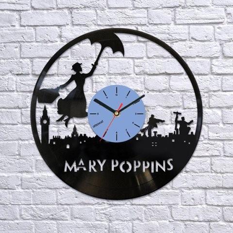 Виниловые часы Мэри Поппинс