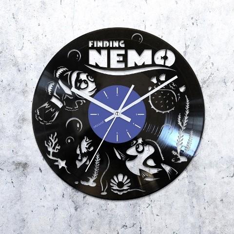 Виниловые часы Немо