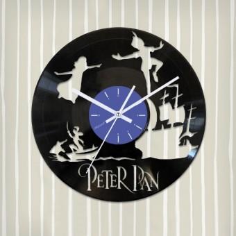 Виниловые часы Питер Пэн