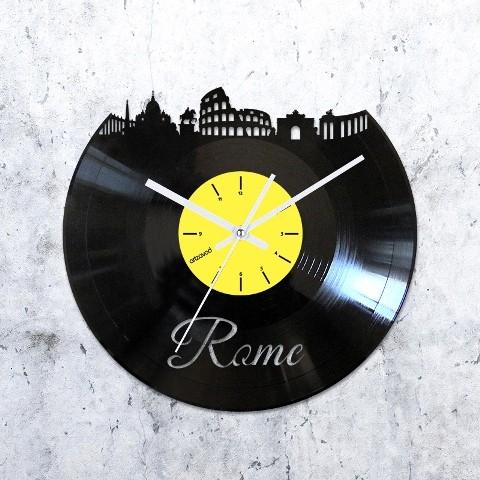 Виниловые часы Где-то в Риме