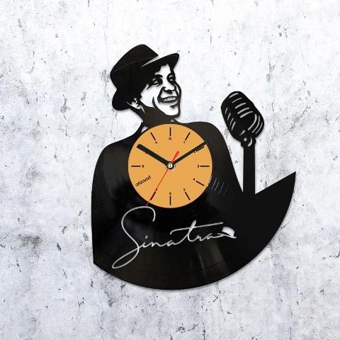Vinyl clock Frank Sinatra