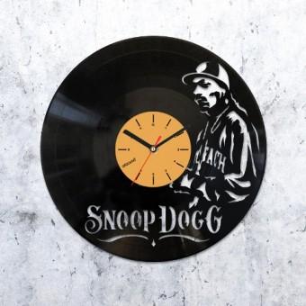 Виниловые часы Снуп Догг