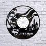 Vinyl clock Superman