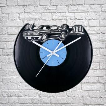 Виниловые часы Где-то в Техасе