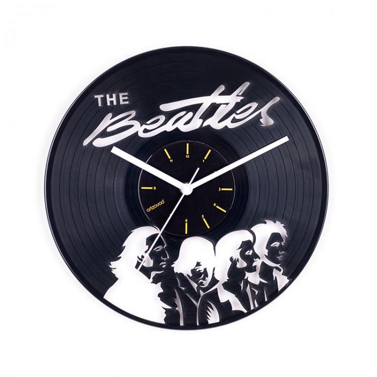 Vinyl clock The Beatles